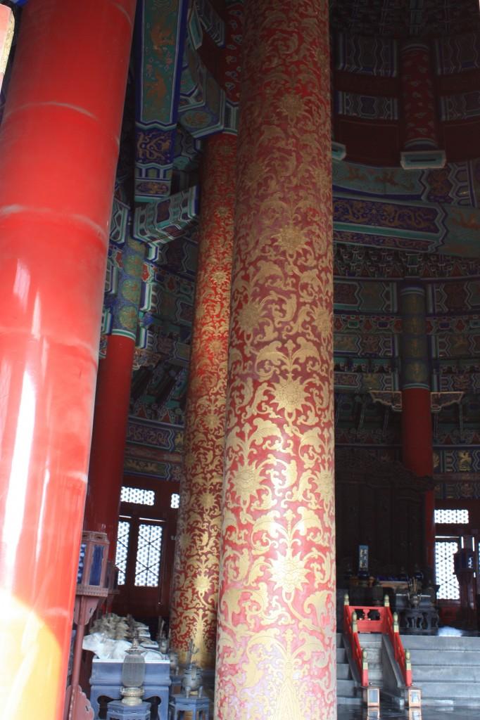 Tiantan pillars