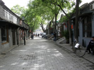 A quiet day in Nanluoguxiang