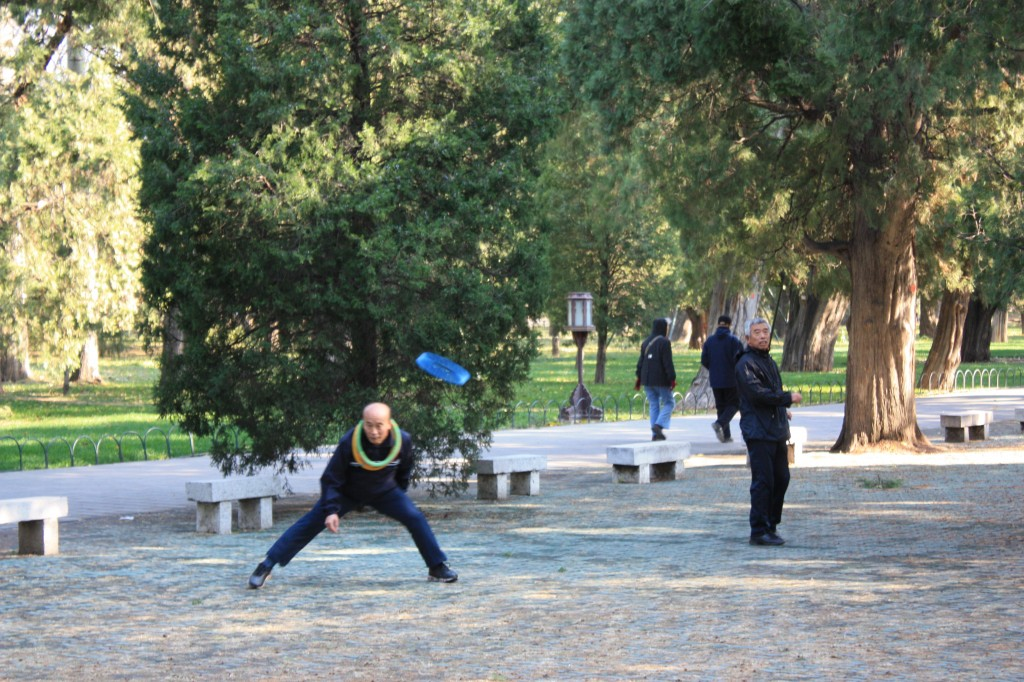 Exercise in Tiantan