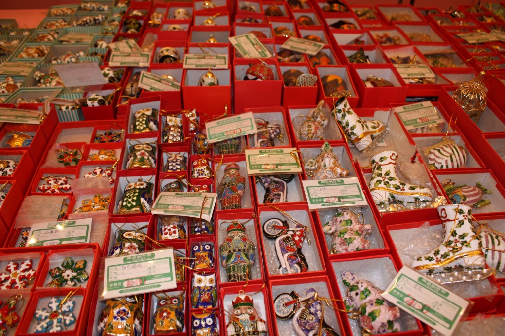 Chinese Christmas decorations