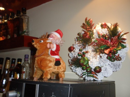 But where's Rudolf?