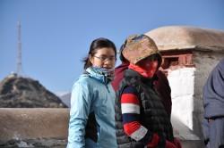 Helen in Tibet