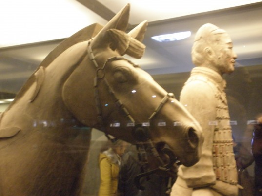 Horse and soldier, Xi'an
